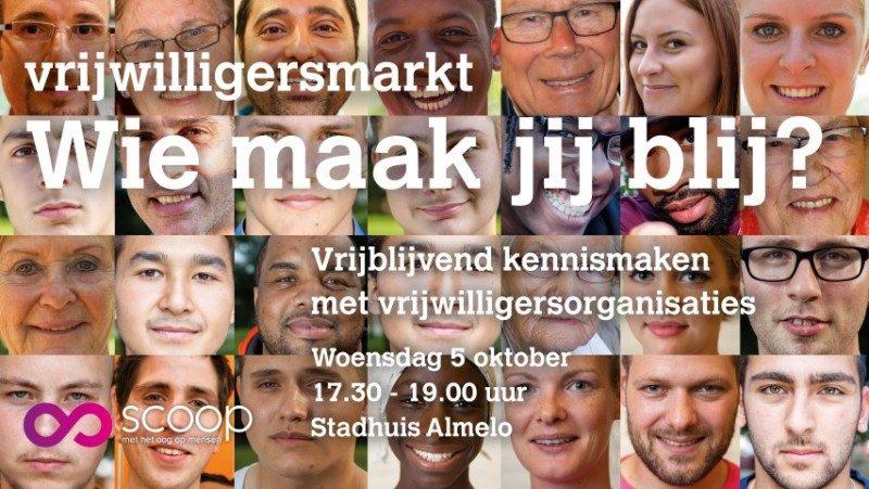 Banner Vrijwilligersmarkt