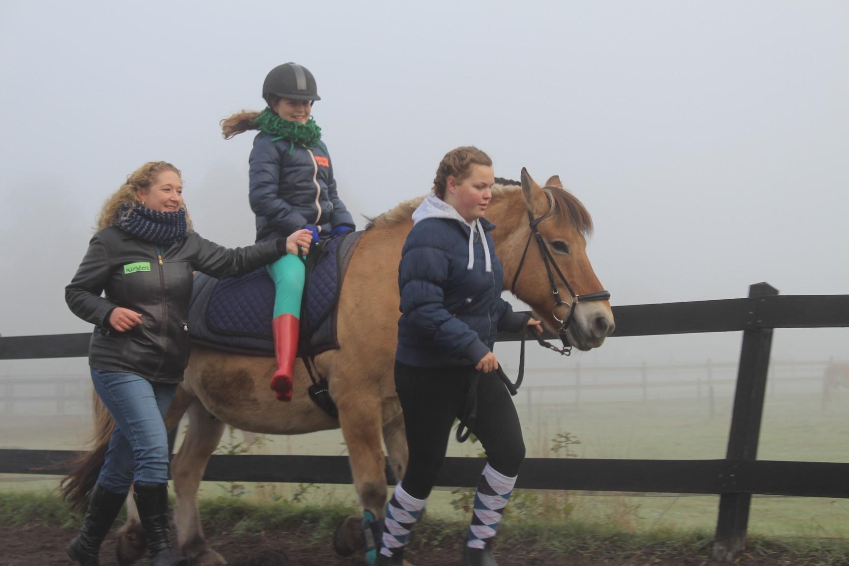 de gravenruiters aangepast paardrijden