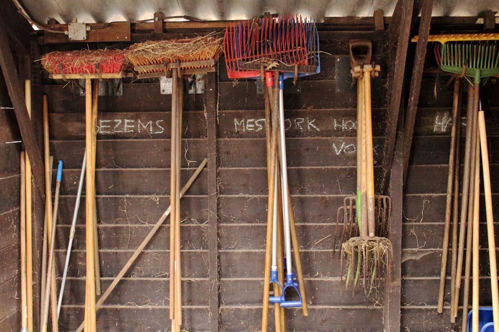 De Gravenruiters gereedschappen