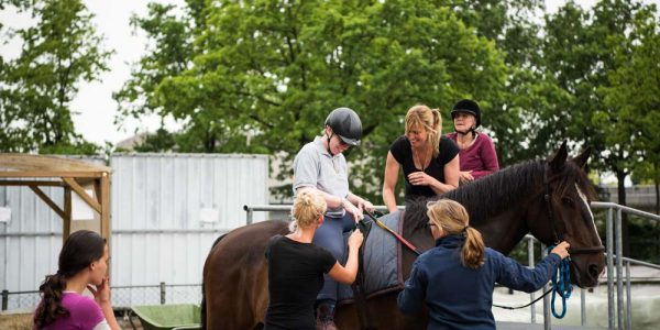Vrijwilliger Aangepast paardrijden