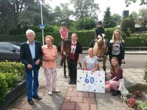 Opa Piet 60 jaar getrouwd
